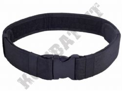 Tactical Belt Heavy Duty Black 600D Nylon Webbing Quick Release & Fully Adjustable